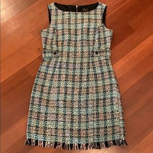 Laundry Size 2 Tweed Dress- Chanel Inspired